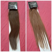 """Clip in remy hair 18"""" (shade 10 & 4)"""