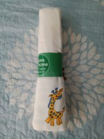 Used Baby muslin swaddle/burp cloth 🎀 in Dubai, UAE