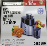 Used Geepas juice extractor in Dubai, UAE