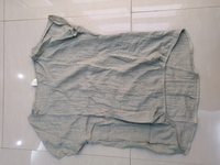 Used New blouse size M khaki in Dubai, UAE