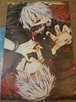 Used 2 Anime Poster: Tokyo Ghoul in Dubai, UAE