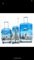 4pcs trolley bag