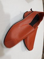 Casual leather shoes #39 orange X1