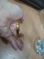 Used Non Tarnish Cartier Bangle With Screw in Dubai, UAE