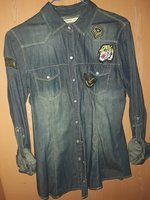 Used Denim shirt button up in Dubai, UAE