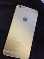 Apple iPhone 6 Plus 64 GB Gold with face