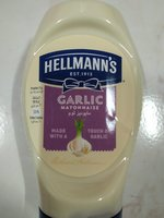 Used 4 pcs Hellmanns garlic mayonnaise 235g in Dubai, UAE