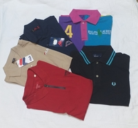 Used Branded Mix Polo Shirts 5 pcs new in Dubai, UAE
