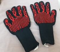 Used BBQ Gloves - 4 pieces in Dubai, UAE