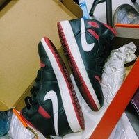 Used Air Jordan 1 Inverse BRED size 4.5 in Dubai, UAE