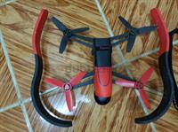 Used Parrot Bebop Drone With Skycontroller (Red) in Dubai, UAE