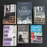 Used Books - crime/detective novels in Dubai, UAE