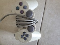 Used Playstation 2 joystick in poor condition in Dubai, UAE