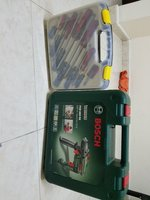 Used BOSH PSB680 RE HAMMER DRILL+TOOLS in Dubai, UAE