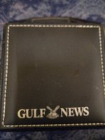 Used Gulf news box for keep small things in Dubai, UAE