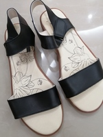 Used Black sandals size 39-40 in Dubai, UAE