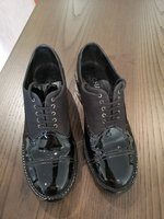 Used Chanel lace-up shoes in Dubai, UAE
