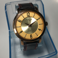 Used OMAX QUARTZ CRYSTAL 50 METERS WATERPROOF WITH RED AND BLACK STRAPS  in Dubai, UAE