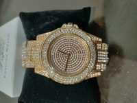 Used Lvpai Women's Golden Diamond Watch in Dubai, UAE
