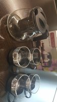 Elegant Glass Tea Set - New