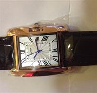 Used SKMEI Gold Plated Leather Strap Watch  in Dubai, UAE