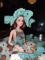 Used Handmade Crochet Doll Dress in Dubai, UAE