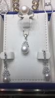 925 Silver pendent set