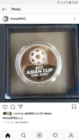 Used ASIAN CUP SILVER PROOF COIN in Dubai, UAE
