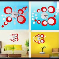 Used Circle mirrors creative clock in Dubai, UAE