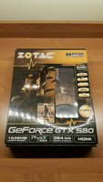 Used Zotac Geforce GTX580 GraphicCard Damaged in Dubai, UAE