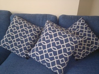 Used Blue Cushions in Dubai, UAE