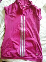 Adidas climacool size small running shir