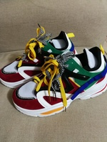 Great fashionable colorful shoes size 43