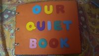 Used Kids activity quiet book book in Dubai, UAE