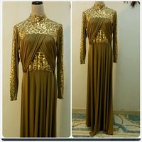 Long dress Arabic jalabiya dress