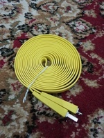 Used 3 meter long USB cable new in Dubai, UAE