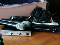 Used Mediacom Karaoke with 4 microphones in Dubai, UAE