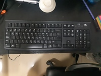 Used Logitech USB wired keyboard in Dubai, UAE