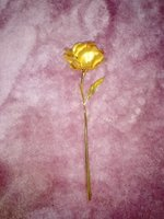 Used Gold plated flower in Dubai, UAE