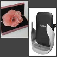 3d ROSE RING BOX + WIRELESS PHONE CHARGE
