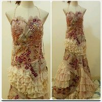 Used Elegant pioStephany long evening dress in Dubai, UAE