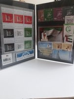 Used UAE post stamps in Dubai, UAE