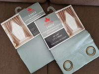 Used 2 Sets of Window Curtain with 8 Grommets in Dubai, UAE
