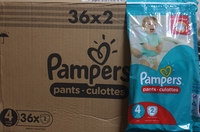 Used PAMPERS PANTS 72 PIECES in Dubai, UAE