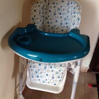Used Giggles Babys High Chair $ Chicco Baby Walker. in Dubai, UAE