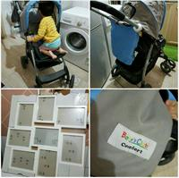 Baby Stroller; Seldom Used; Just Stored And IkEa FRAMES (BRAND NEW WITH PACKAGING)