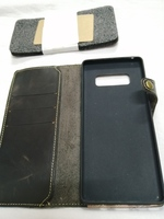 Used Samsung Genuine leather wallet Note 8 in Dubai, UAE