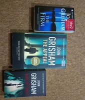 Used John Grisham and Sidney Shildon Books in Dubai, UAE