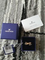 Used Swarovski lifelong bow ring size 52 in Dubai, UAE