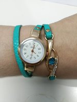 Used New blue long strap ladies watch in Dubai, UAE